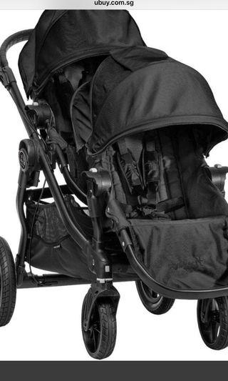 Double Stroller City Select By Baby Jogger