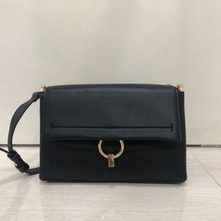 Mango black handbag