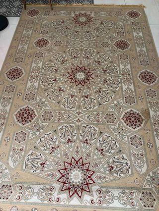 Semerkant Carpet rug from turkish xxl size