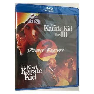 BLU RAY BRAND NEW - THE KARATE KID PART III / THE NEXT KARATE KID DOUBLE FEATURE (ORIGINAL USA IMPORT )