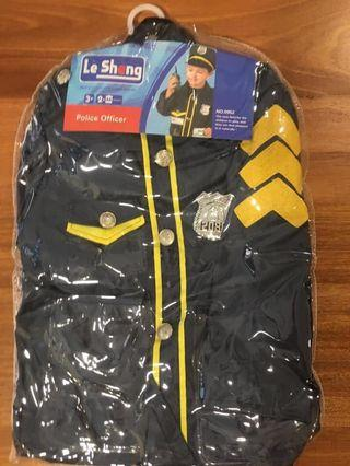 Police office costume for kid