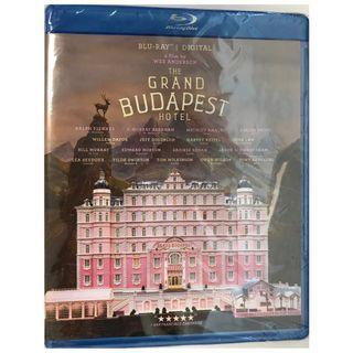 BLU RAY BRAND NEW - THE GRAND BUDAPEST HOTEL (ORIGINAL USA IMPORT)