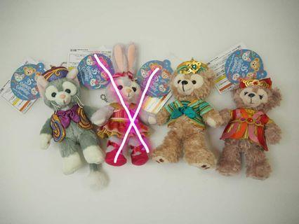 Duffy & friends公仔匙扣