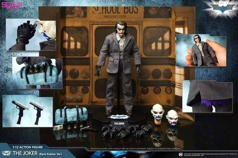 新貨 預訂 6吋 1/12 Action Figure -The Joker sales kit