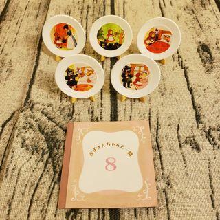 迷你食玩Re-ment Fairy Tale Tableware Trip to Grandma's house 小紅帽碟