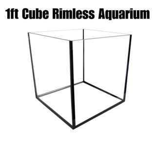 $26 1ft by 1ft by 1ft glass Fish Tank