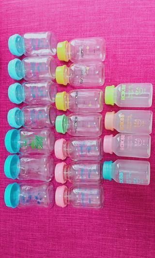 breastmilk glass bottle