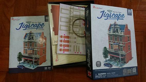 Jigscape 3D Puzzle