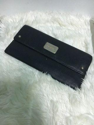 Capacci leather long wallet