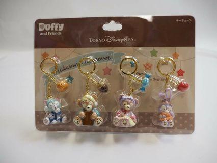 Duffy & friends匙扣
