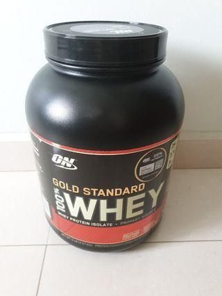 Optimum Nutrition Whey 5lbs chocolate mint