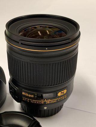 Nikon AF-S 28mm 1.8 G 鏡
