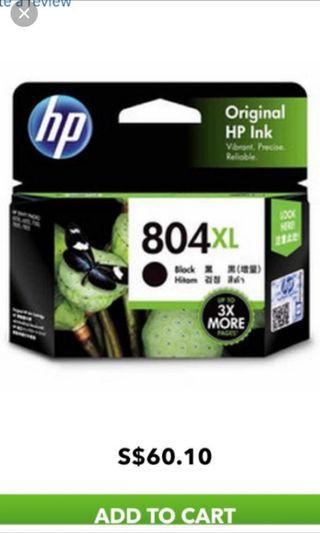 🚚 HP Ink Cartridges 804 XL