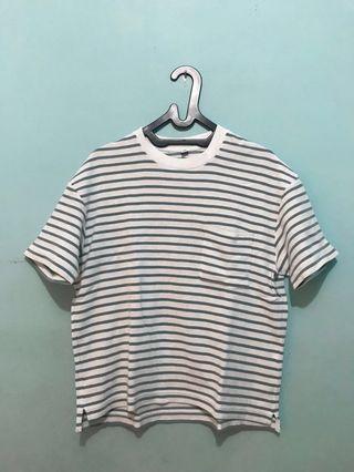 Uniqlo - Oversized Stripe T-Shirt