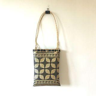 Traditional Bornean Handcrafted Rattan Woven Bag