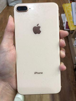 Apple iPhone 8 Plus 64GB 金 二手機