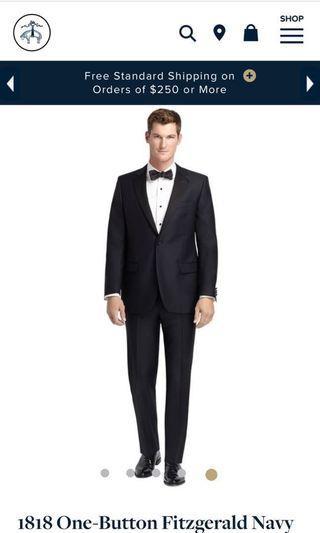 Brooks Brothers tuxedo