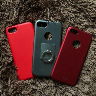 Iphone 7/8 cases (All 3)