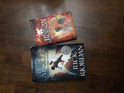🚚 Percy Jackson books