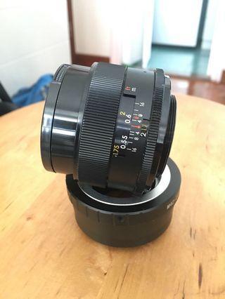 YASHICA DX 50mm f1.7 (M42)