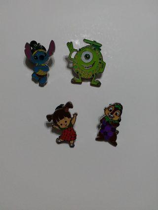 香港迪士尼徽章 disney pin