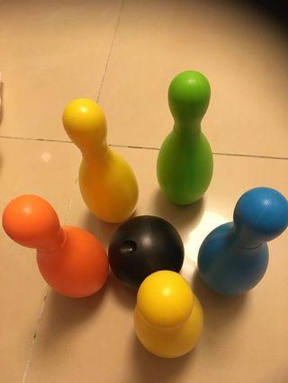 保齡球玩具