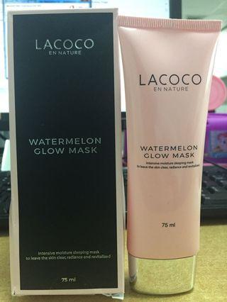 #SociollaCarousell LACOCO WATERMELON GLOW MASK