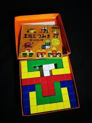 Wooden block puzzle