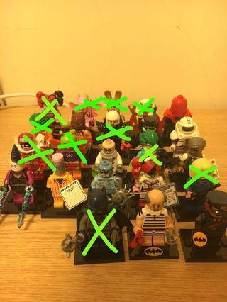 Lego Batman散裝人仔, Lego Batman 散裝淨機