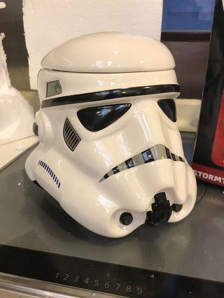 Star Wars Stoormtrooper cookie jar