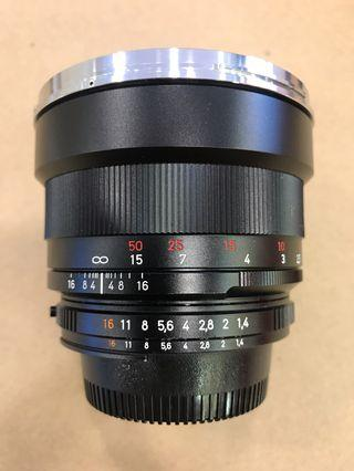 Zeiss 50mm F1.4 ZF.2 For Nikon