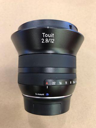 Zeiss 12mm F2.8 For Fujifilm