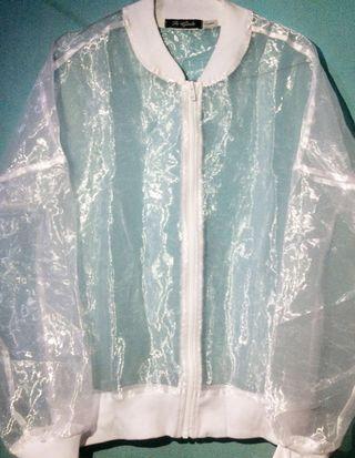 Jaket Transparant