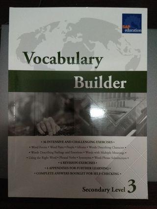 Vocabulary Builder Sec 3