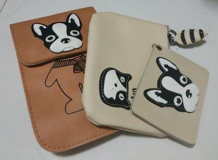 🚚 BN Dog and Cat Pouch, Wallet & Card Holder