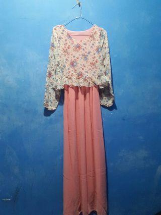 Dress Lucu (Pink Floral)