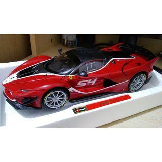 Bburago 1/18 Ferrari FXX K EVO #54 Signature Series (Not Autoart nor MR nor BBR)