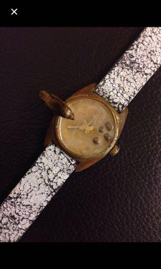 減價😜Vintage look watch look accessory