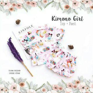 Kimono baby girl uk M
