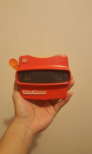 3d View Master Mainan Kamera BONUS Isi