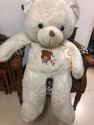 Teddy Bear Big White