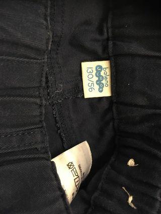 Baleno 寶藍色長褲,size130