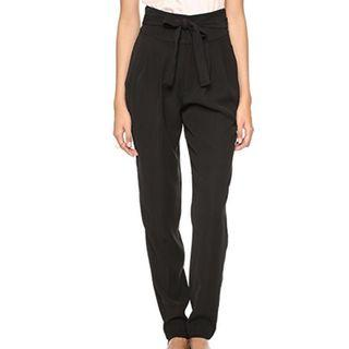 Marc Jacobs Tie Waist Pants in Cady Collage