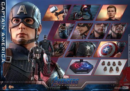 Avengers: Endgame - 1/6th scale Captain America Collectible Figure (MMS536)