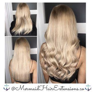 ✨MERMAID HAIR EXTENSIONS   PREMIUM QUALITY , TRUSTED SERVICES✨