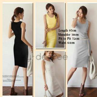 Brand New Knee length cotton dress
