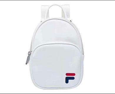 FILA leather Mini Backpack