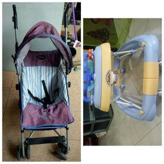 PROMO! Stroller+babywalker