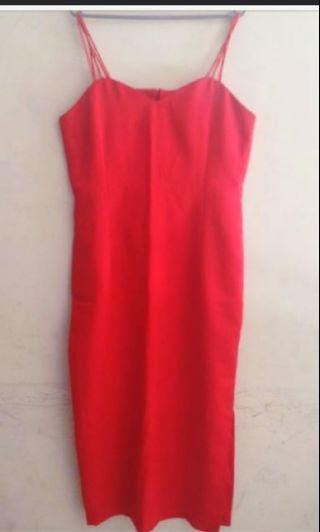 Red Dress / Dress Merah