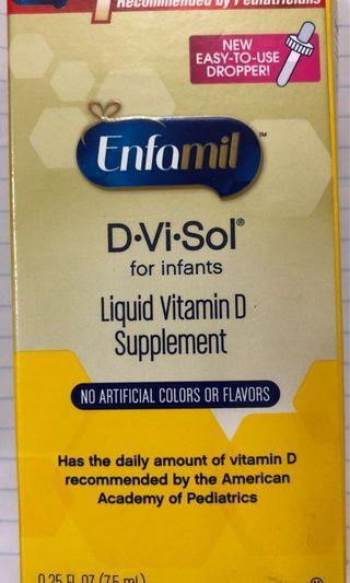 D•Vi•Sol Liquid Vitamin D Supplement